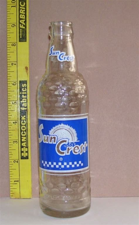 Tallahassee Upholstery Shop Sun Crest Soda Bottle