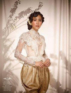 Setelan Kebaya Ba 072 ช ดไทย ช ดไทยเจ าสาว ช ดไทยแต งงาน thai wedding dress thai traditional dress https th th