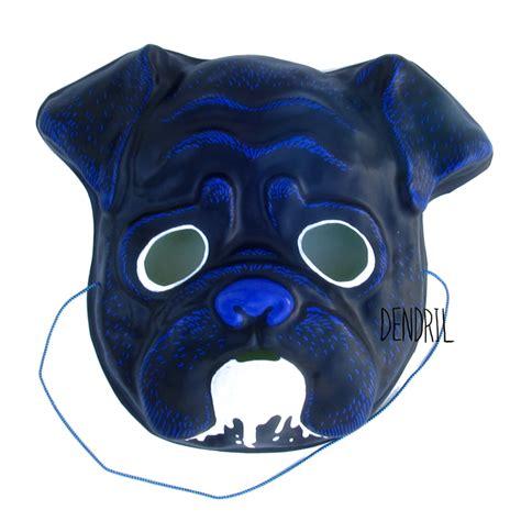 pug drooling drooling pug mask by dendril on deviantart