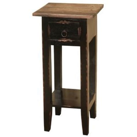 narrow nightstand with drawers nightstand narrow bedside table wayfair with regard to