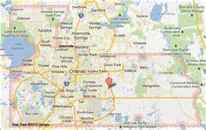 Map Of Orange County Florida by Orange County Florida Map Images