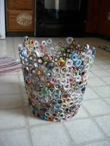 Ideas For Waste Baskets Design How To Recycle Recycled Waste Paper Basket