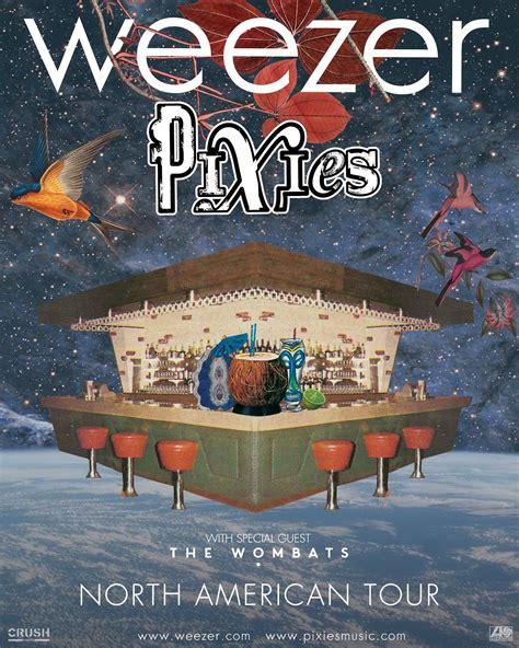 Home Design Center Phoenix Pixies Amp Weezer Co Headline Summer 2018 Tour The Pixies