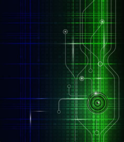 background pattern technology abstract technology pattern vector background 03 over