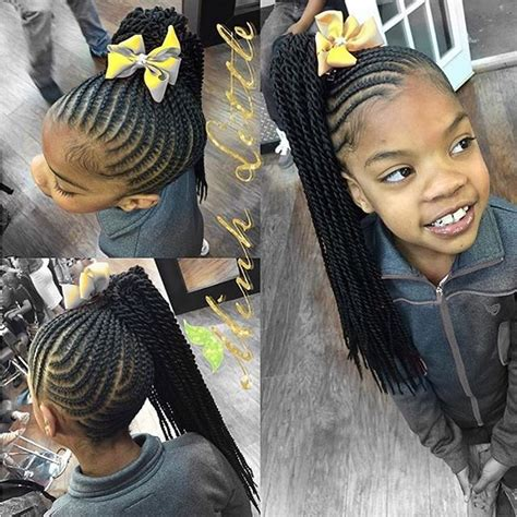 plaited hair styles for black kids stylist feature such a cute kids style hairbyminklittle