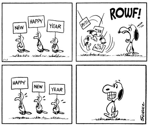 new year comic strips snoopy new year car interior design