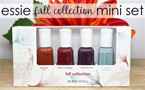 Essie Mini Fall 2013 essie 2016 fall collection mini set the feminine files
