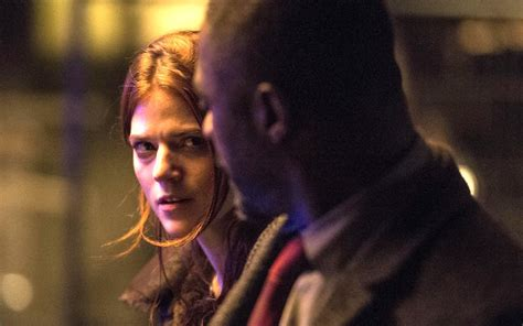 idris elba you should be writing rose leslie is keen to return if a new season of luther