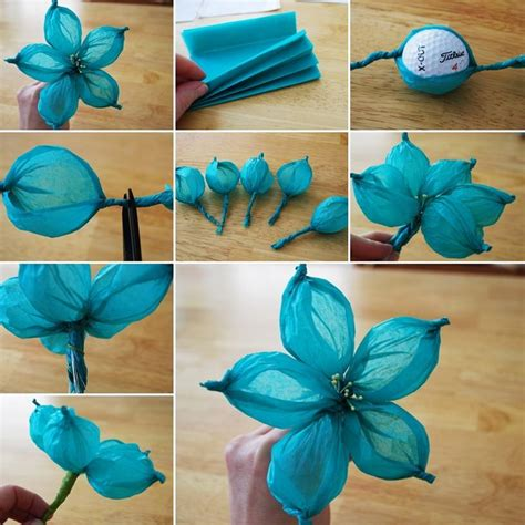 Paper Decorations For Bedrooms by Best 25 Tissue Paper Flowers Easy Ideas On