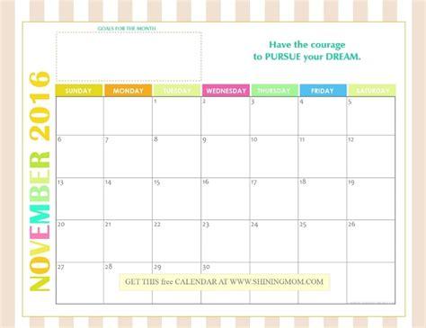 printable mom planner 2016 shining mom calendar 2016 calendar template 2016