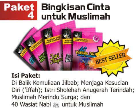 Paket Wanita Muslimah Isi 6 Buku Tema Wanita Tanpa Boxkotak paket buku islami