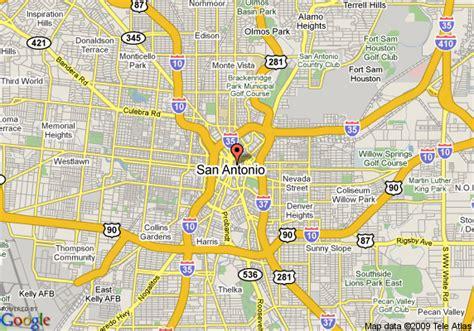 texas casino map map of sheraton gunter hotel san antonio