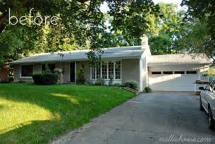 Mailbox Curb Appeal - nalle s house putting the modern back in our mid century ranch entry