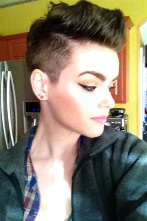 short hair pixie cut shaved sides hair makeup and 270 best images about tapered twa natural hair on