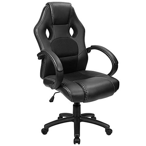 comfortable desk chair for gaming furmax furmax office chair pu leather gaming chair high