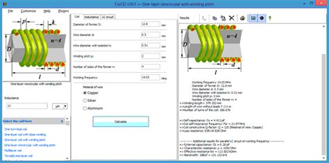 inductor winding software coil32 more about coil32