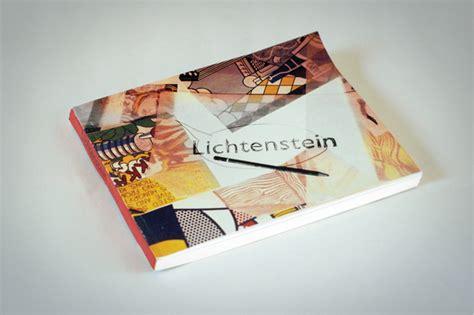 lichtenstein coffee table book on behance