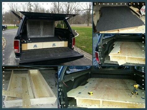 truck bed storage truck bed storage dog kennels and truck bed on pinterest