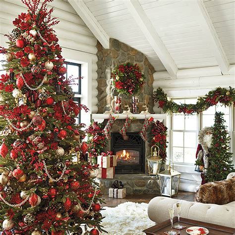 home christmas tree decorations 11 christmas house decorating styles 70 pics decor advisor
