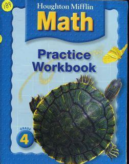 houghton mifflin math grade 1 practice workbook houghton mifflin math â 2005 books houghton mifflin 4th grade 4 math answer key homeschool on