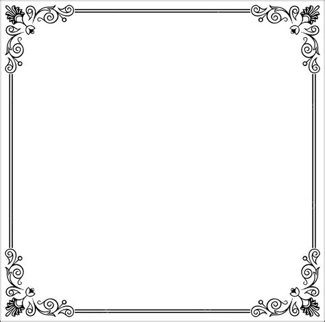 Border Templates Free Download Vectorborders Net Letter Border Template