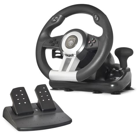 volanti pc spirit of gamer race wheel pro volant pc spirit of gamer
