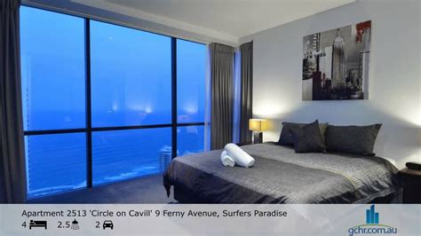 2 bedroom apartments surfers paradise accommodation apartment 2513 circle on cavill surfers paradise