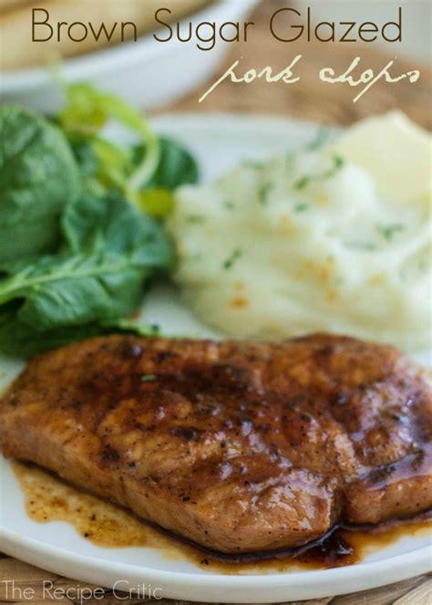 brown sugar glazed pork chops the recipe critic