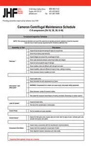 air compressor maintenance checklist