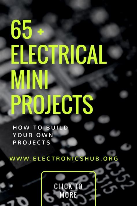 top 65 electrical mini projects