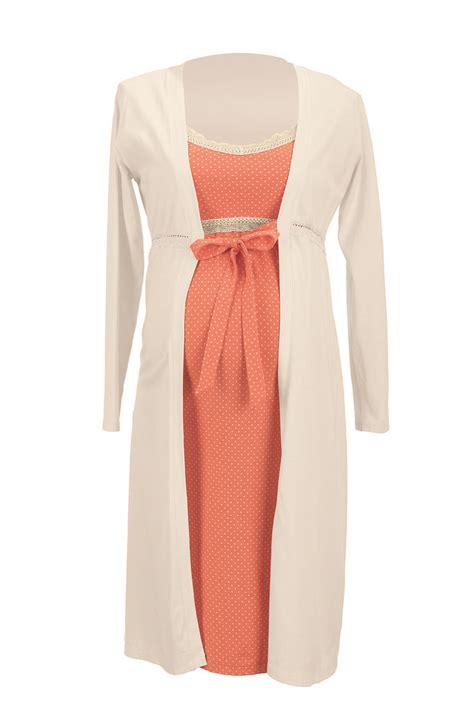 Set Orange Bata nuevo set maternal 4 piezas orange enero 2015 conjuto camis 243 n bata zapatillas y bolsa para