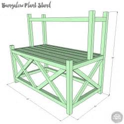tiered plant shelves 15 diy plant stands you can make yourself home and