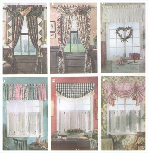 simplicity curtain patterns simplicity sewing pattern 8969 curtains window treatments