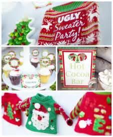 sweater food ideas kara s ideas sweater free printables