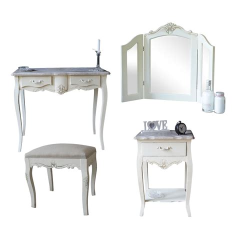 Stools As Bedside Tables by Wooden Bedroom Set Dressing Table Mirror Stool Bedside Shabby Chic Ebay