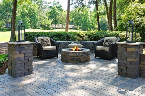 paver backyard ideas paver patio ideas with useful function in stylish designs