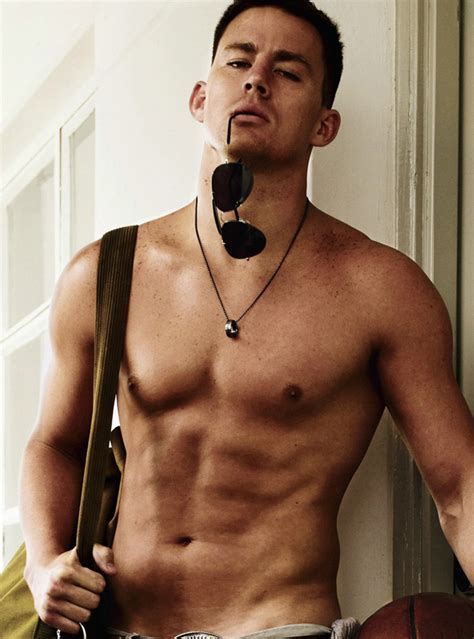 Channing Tatum Shirtless in GQ (PHOTOS)   HuffPost