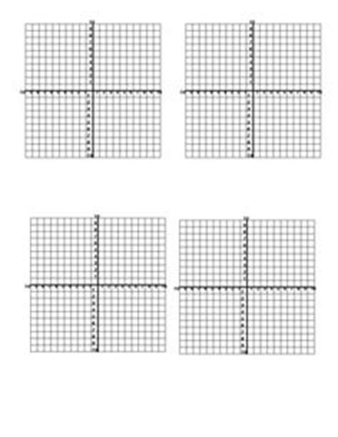 Printable Mini Graphs | printable graph paper and coordinate planes teaching