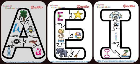 imagenes educativas las vocales puzle de las vocales imagenes educativas