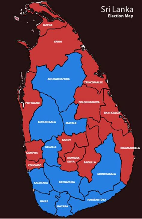 gossip lanka election result final results 7th presidential election 2015 daily