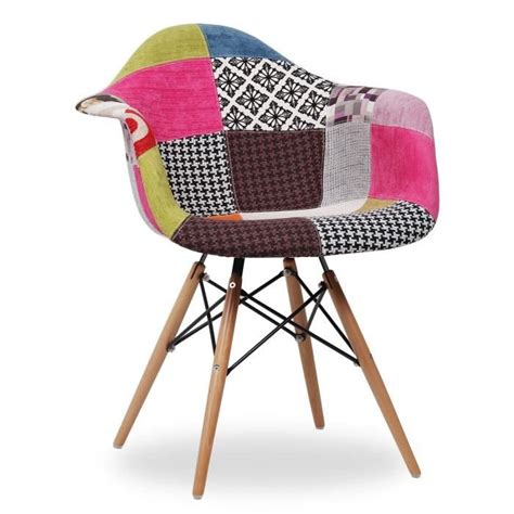 chaise eames patchwork chaise eames daw style patchwork patchwork achat