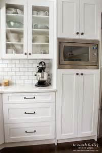 kitchen microwave pantry storage cabinet 25 best ideas about built in microwave on pinterest