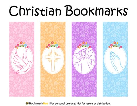 templates for christian bookmarks free printable christian bookmarks featuring graphics of a