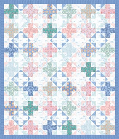 Free Quilt Fabric by Quilt Inspiration Free Pattern Day Plus And Cross Quilts