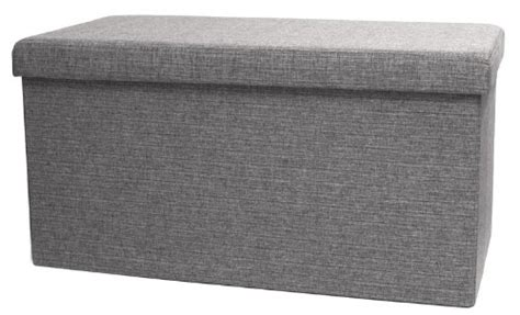 folding storage bench by fhe fhe folding storage ottoman bench with lid 32