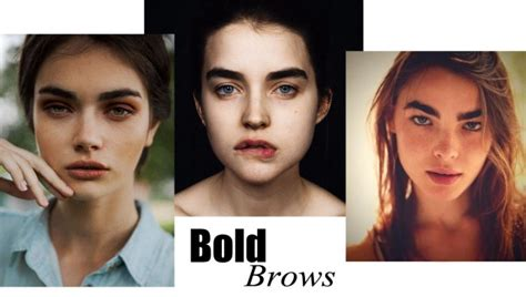 Summer 06 Makeup Podcast Strong Brows by 5 Summer Trends To Try Now