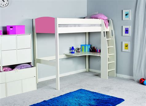 stompa uno s high sleeper desk