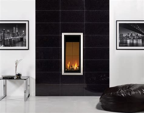 black tile fireplace stovax black galaxy granite gazco stovax fireplace tile