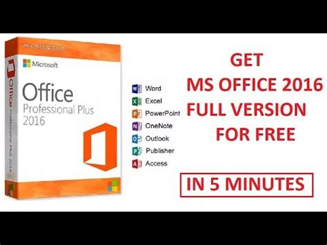full version ms office 2016 get microsoft office 2016 365 full version for free in 5
