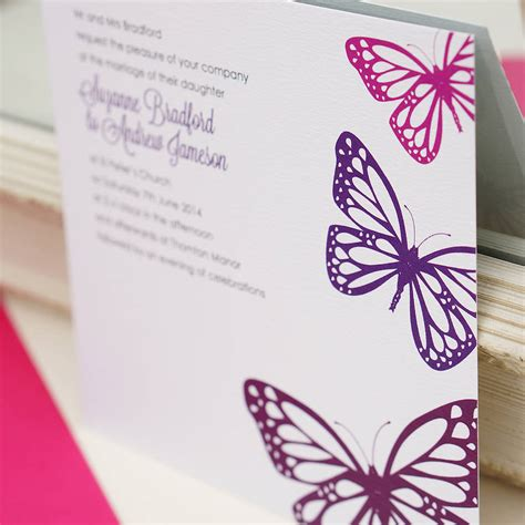 butterfly wedding invitations templates stunning butterfly wedding invitations theruntime